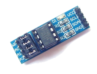 Module EEPROM AT24C256 interface I2C